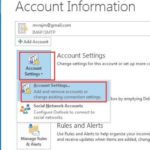 Change Outlook Password