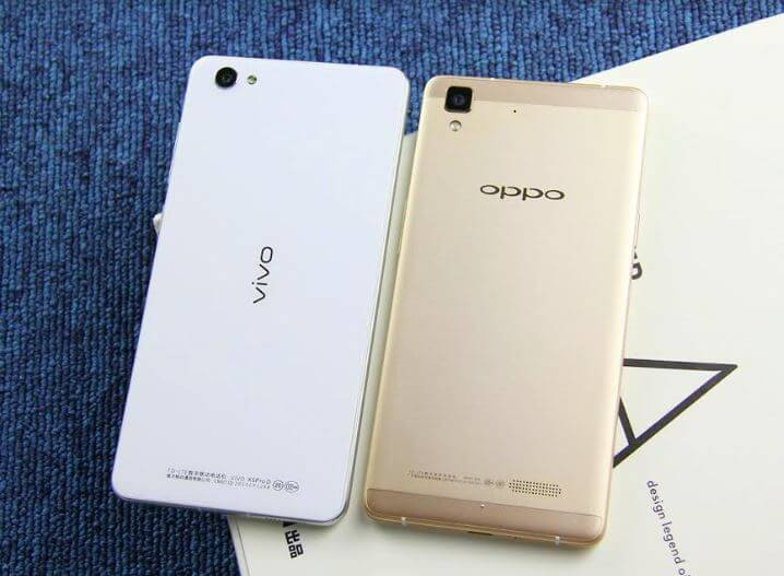 Vivo and Oppo