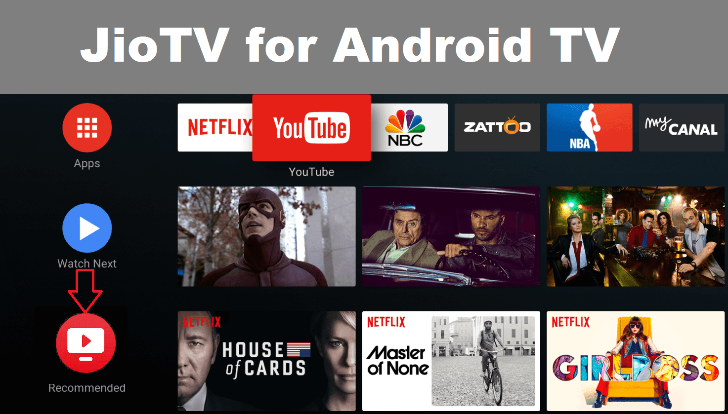 jio tv apk for android tv