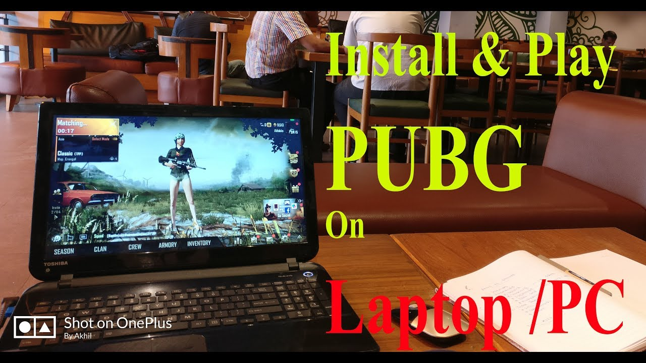 how to install pubg on pc