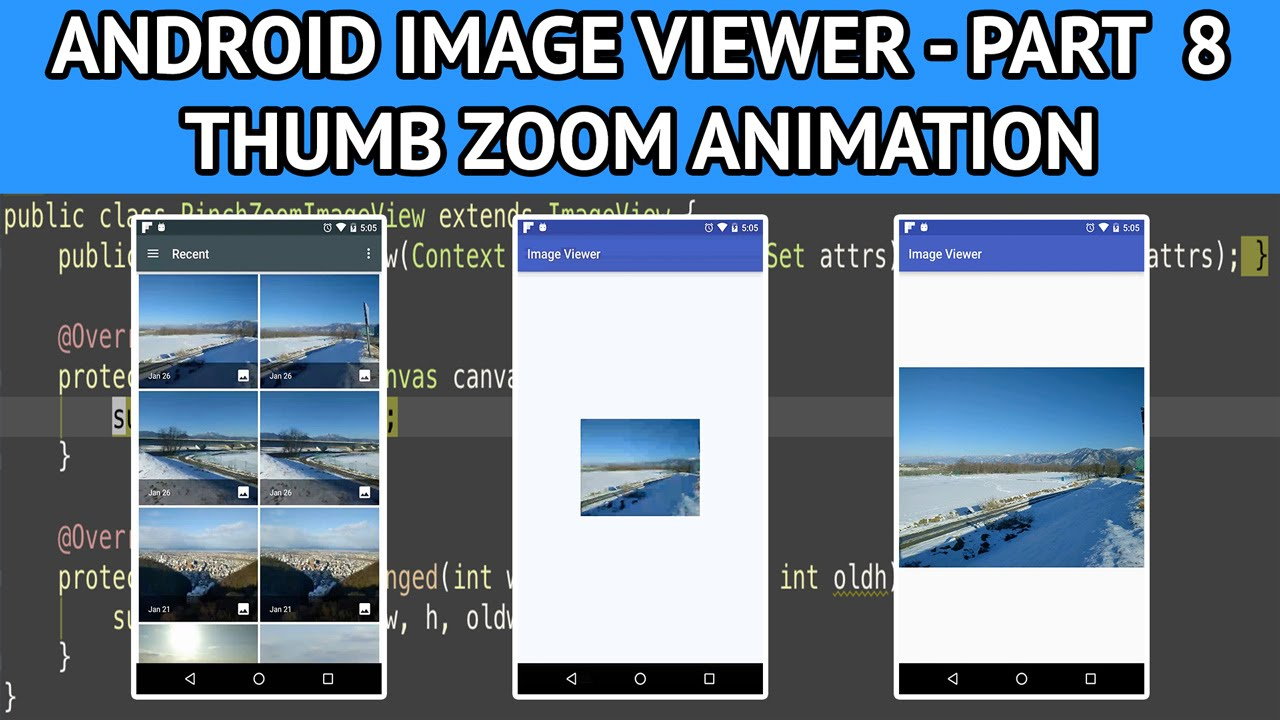 Image viewer in android